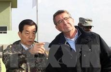 Bộ trưởng Quốc phòng Mỹ yêu cầu Triều Tiên ngừng khiêu khích