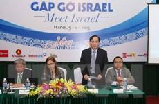 Doanh nghiệp Việt quan tâm đến công nghệ sản xuất của Israel