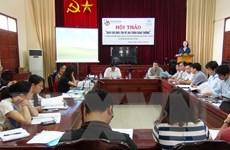 """Hội thảo """"Báo chí đưa tin về an toàn giao thông"""" tại Bắc Ninh"""