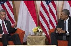 Lãnh đạo Mỹ và Singapore khẳng định quan hệ vững mạnh