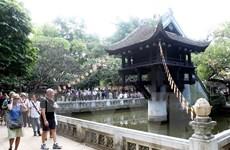 Lượng khách du lịch quốc tế đến Thủ đô tăng trưởng ấn tượng