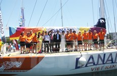 Thuyền đua Đà Nẵng giới thiệu hình ảnh Việt Nam tại Australia