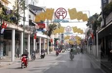 Hà Nội đảm bảo đường phố sạch đẹp dịp Đại hội Đảng lần thứ XII