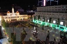 Thành phố Hồ Chí Minh tràn đầy khí thế bước vào Năm mới 2016