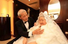 Xúc động món quà Valentine của cụ ông lãng mạn nhất Trung Quốc