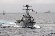 Mỹ khẳng định sẽ tiếp tục tuần tra tại khu vực Biển Đông