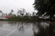 Bão Winston thổi bay hàng trăm ngôi nhà ở Fiji, 17 người chết