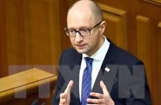 Nhiễu loạn tin về khả năng Thủ tướng Ukraine Yatsenyuk từ chức