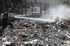 Liban chi 50 triệu USD giải quyết cuộc khủng hoảng rác thải