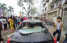 Vụ nổ ở Văn Phú-Hà Đông: Nhiều nạn nhân đã qua cơn nguy kịch