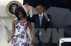 [Video] Tổng Thống Mỹ Barack Obama bắt đầu thăm chính thức Cuba