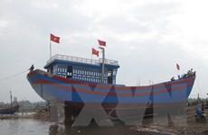 Sóc Trăng hạ thủy 4 tàu đánh cá đóng mới theo Nghị định 67