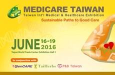 TAITRA tài trợ doanh nghiệp dự triển lãm y tế thế giới ở Đài Loan