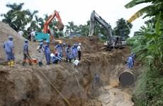 Ngừng hợp đồng đường ống nước sông Đà với nhà thầu Trung Quốc