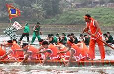 Giỗ Tổ Hùng Vương: Việt Trì tổ chức Hội thi bơi chải quy mô lớn