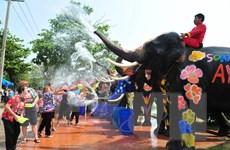 Thái Lan tăng cường an ninh chuẩn bị cho lễ hội té nước Songkran