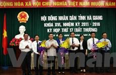 Bà Hà Thị Minh Hạnh làm Phó Chủ tịch UBND tỉnh Hà Giang