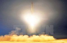 [Video] Mỹ-Hàn lên án các vụ phóng tên lửa mới của Triều Tiên