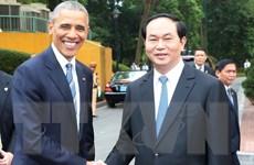 Báo quốc tế đưa tin về chuyến thăm Việt Nam của Tổng thống Hoa Kỳ