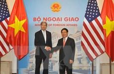 Phó Thủ tướng Phạm Bình Minh hội đàm Ngoại trưởng Hoa Kỳ John Kerry