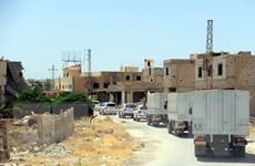 Đoàn viện trợ Liên hợp quốc đã đến được thị trấn Daraya của Syria