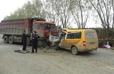 Tai nạn xe tải kinh hoàng khiến 6 người chết ở miền Đông Trung Quốc