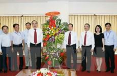Chủ tịch MTTQ Việt Nam thăm 3 cơ quan báo chí lâu đời nhất