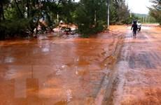 Xác định nguyên nhân vỡ hồ chứa nước đãi titan tại Bình Thuận