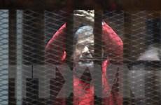 Ai Cập bác chỉ trích của Qatar về vụ xử Morsi làm gián điệp