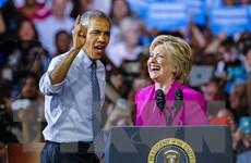 [Video] Tổng thống Obama vận động tranh cử cho bà Clinton