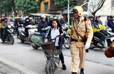 Công an Hà Nội xử phạt 135 môtô, xe máy điện trong tuần đầu tiên