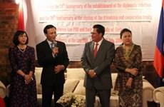 Giao lưu thắm tình hữu nghị Việt Nam-Lào tại Xứ sở Chuột túi