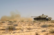 Mỹ lần đầu tiên không kích thành trì Sirte của IS ở Libya