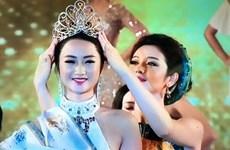 Trần Thị Thu Ngân đăng quang Hoa hậu Bản sắc Việt toàn cầu 2016