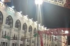 Saudi Arabia xử 14 người liên quan tới vụ sập cần cẩu tại Mecca