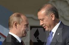 Nga kỳ vọng khôi phục và phát triển quan hệ với Thổ Nhĩ Kỳ