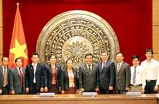 Việt Nam-Lào trao đổi kinh nghiệm tổ chức và hoạt động HĐND
