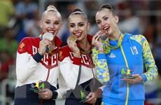 Olympic 2016: Đội tuyển Nga thống trị nội dung thể dục nhịp điệu
