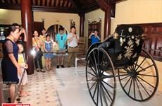 Chiêm ngưỡng chiếc xe cổ tinh xảo của Hoàng Thái Hậu Từ Minh
