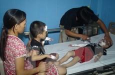 Quảng Bình: Nổ bóng bay đêm Trung Thu, 9 người nhập viện cấp cứu