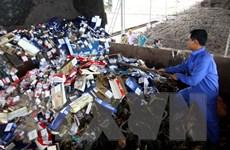 Bình Phước bắt giữ một xe tải chở 5.000 gói thuốc lá lậu