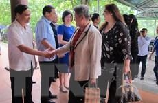 Đoàn các nhà nữ ngoại giao quốc tế thăm tỉnh Ninh Bình