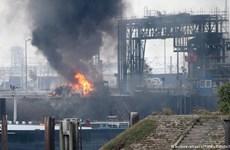 Đức: Gần 20 người thương vong, mất tích trong vụ nổ nhà máy hóa chất