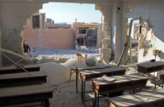 LHQ yêu cầu điều tra vụ không kích vào một trường học ở Syria