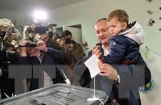 Bầu cử Moldova: Chủ tịch đảng Xã hội Chủ nghĩa vượt lên trước
