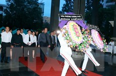 Lễ truy điệu nguyên Phó Chủ tịch Hội đồng Bộ trưởng Nguyễn Văn Chính