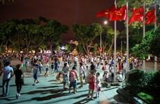 Hơn 2 vạn lượt khách đến Không gian đi bộ hồ Hoàn Kiếm mỗi ngày