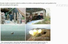 [Video] Triều Tiên lại tập trận bắn đạn thật gần biên giới Hàn Quốc