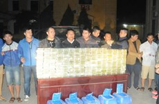 Phó Thủ tướng gửi thư khen Công an Phú Thọ phá án 300 bánh heroin