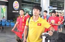 AFF SUZUKI CUP 2016: Tuyển Việt Nam đã có mặt tại Indonesia